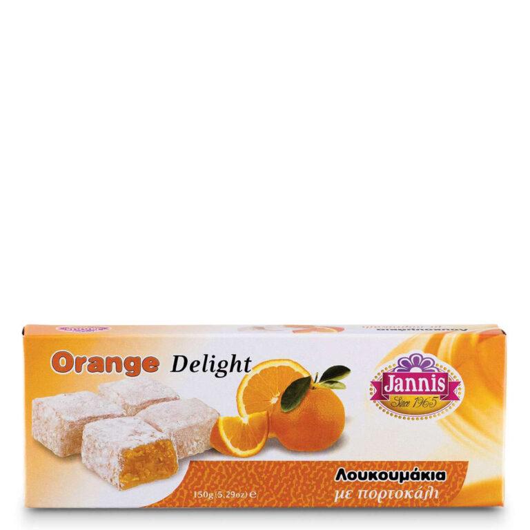 Λουκούμια με πορτοκάλι 150g