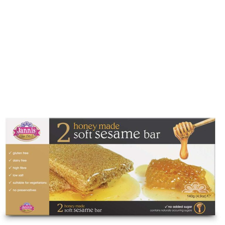 2 Sesame & Honey Bars 140g