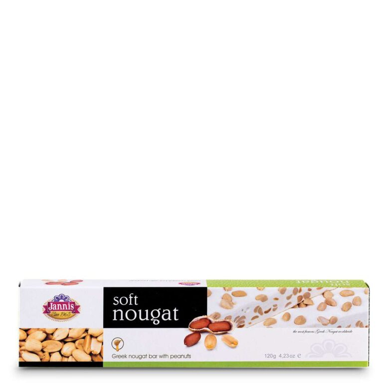 Soft Nougat with Peanuts 120g