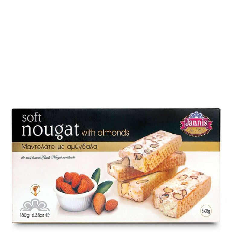 Soft Nougat with Almonds 180g