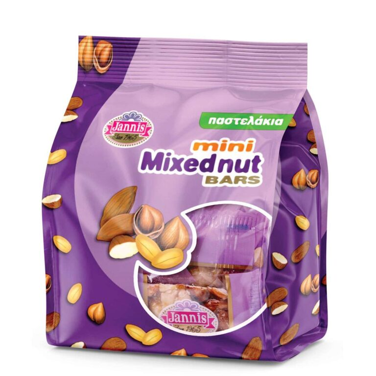 Mini Mixed Nut Bars 150g