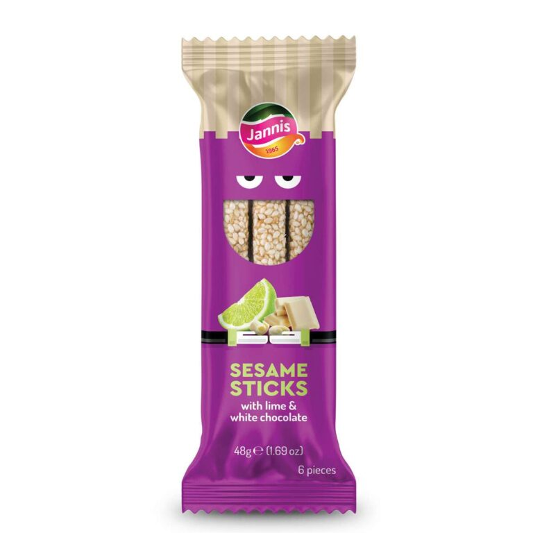 Sesame Sticks with Lime & White Chocolate 48g