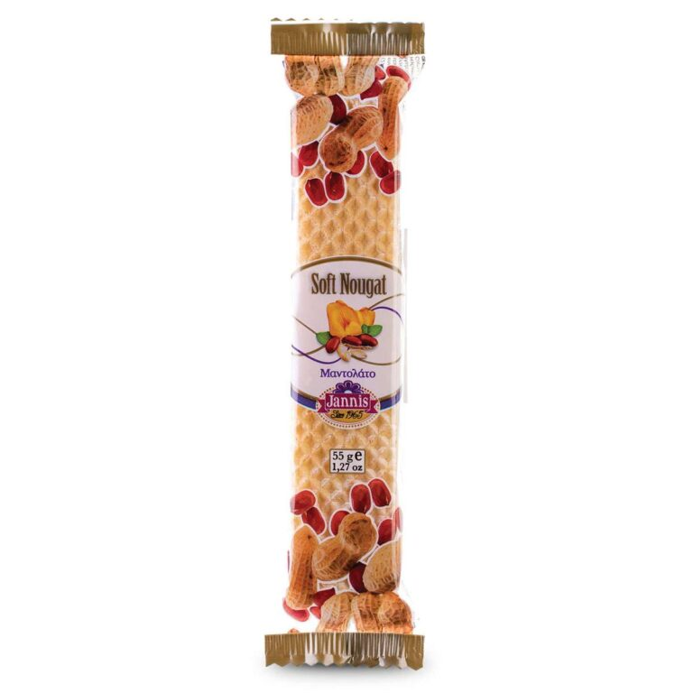 Soft Nougat with Peanuts 55g